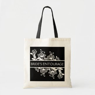 Bride Entourage Canvas Bag