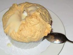 Bread pudding soufflee