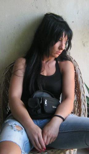 Despondent woman