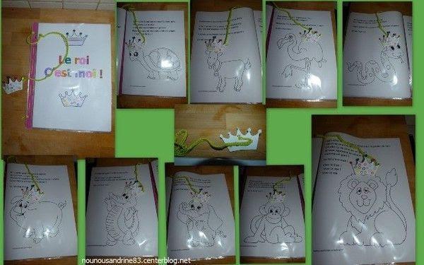 activité manuelle : livre à colorier : qui est le roi ?