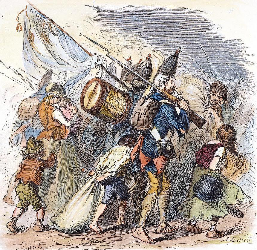 hessian-mercenaries-18th-c-granger.jpg (860×837)