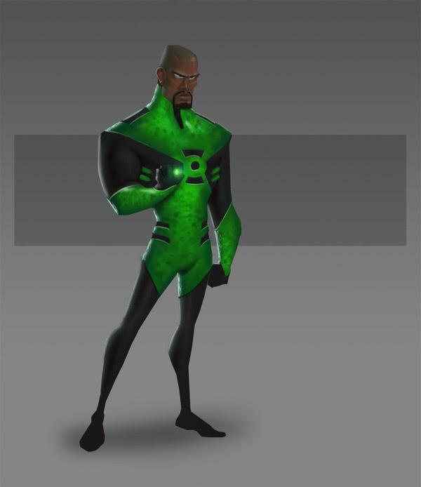 Green Lantern Pixar