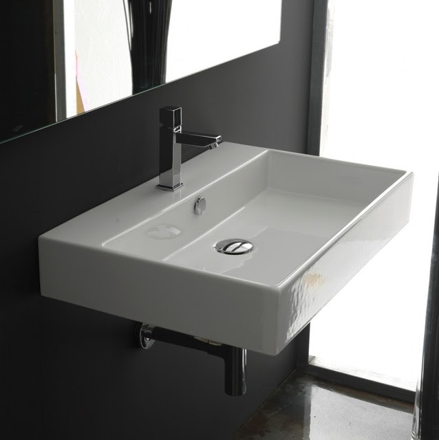 WS Bath Collections Unlimited 70 Wall Mount Sink 27.6 ...
