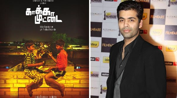 Bollywood filmmaker lauds Kaaka Muttai