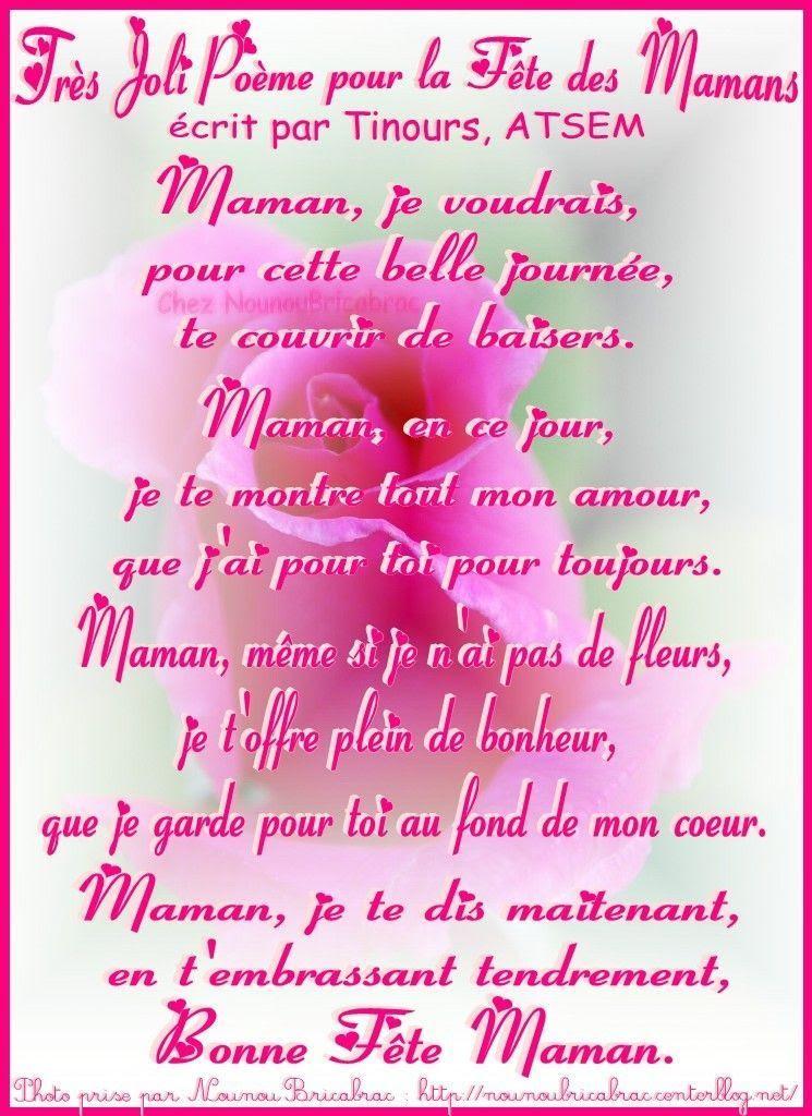 Poeme Anniversaire Pour Maman Emelina