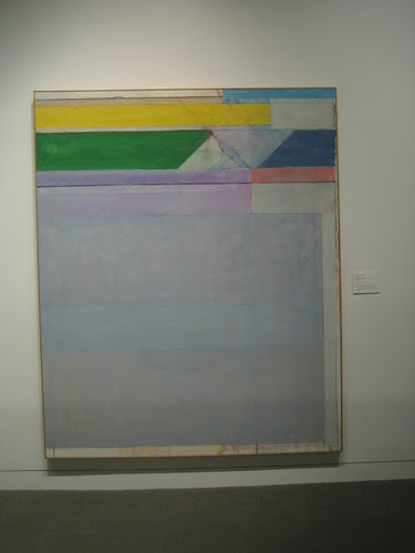 Ocean Park No. 107, Oil on Canvas, Richard Diebenkorn, Oakland Art Museum _ 9476