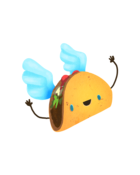 lollipopcharacters taco