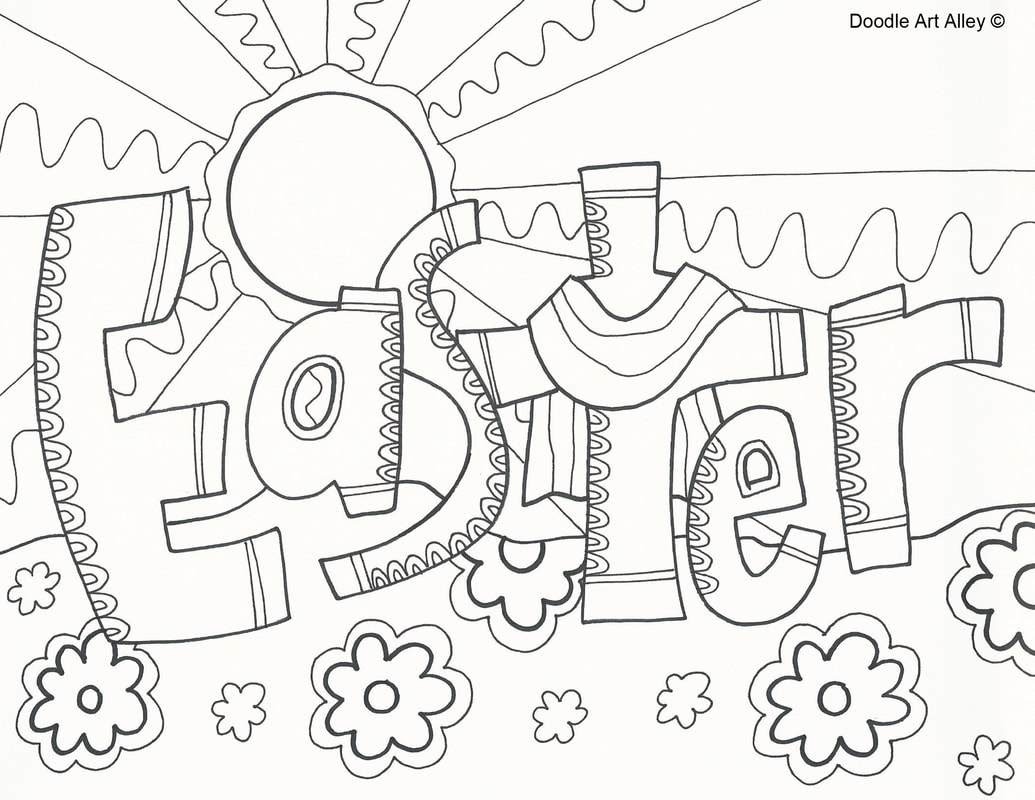Doodle Coloring Pages Printable at GetDrawings   Free download
