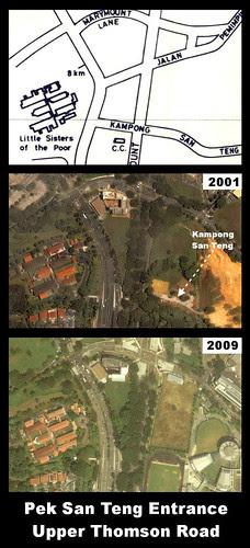 Kampong San Teng Entrance