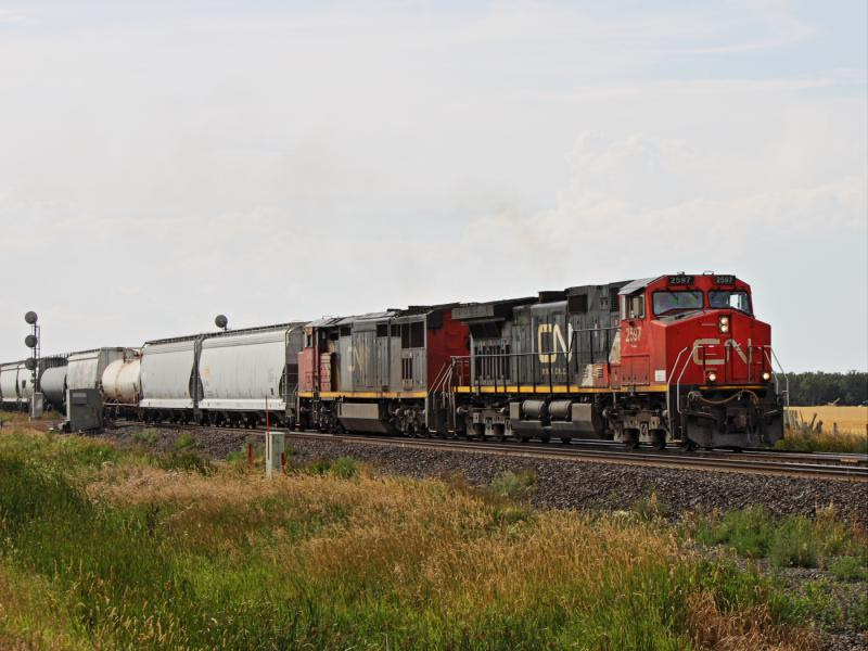 CN 2597 in Winnipeg