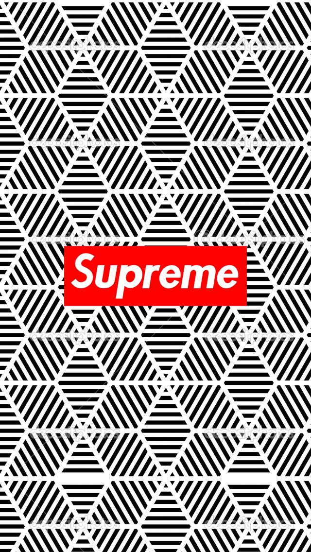 Hd Wallpaper Iphone 6 Supreme Wallpaper Candi