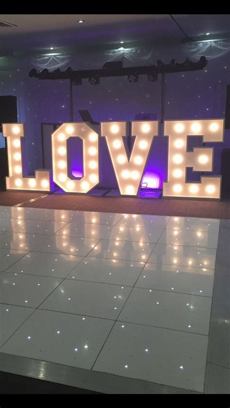 light  led love letters hire  home furniture diy