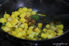 Baby corn step 7