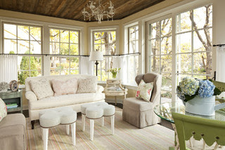 Shabby Chic Your Heart Out traditional family room