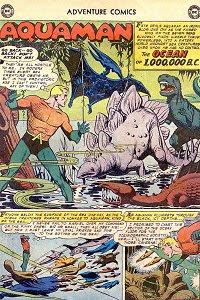Adventure #253 Aquaman Splash Page