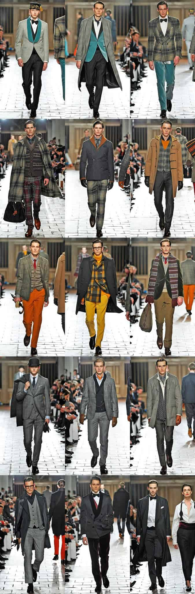 Hackett – Autumn Winter 2013 at London Collections: Men