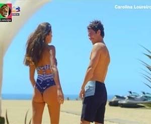 Carolina Loureiro super sensual na nova temporada da novela Nazare