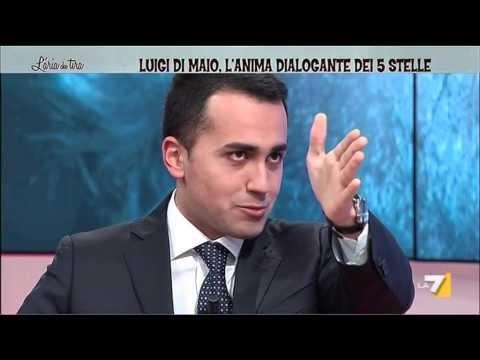 """GIORNALISTA A DI MAIO:""""MA COME FAI A STARE CON IL M5S?"""" DI MAIO LO AMMUTOLISCE COSI.."""