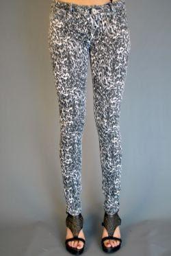 Love Sasha Grey Animal Print Jeans