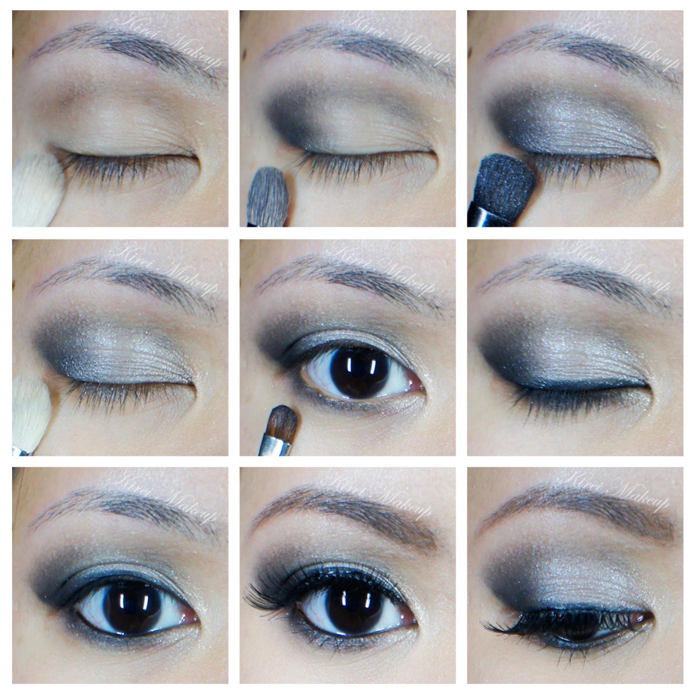 How to apply eye makeup tutorial beginners