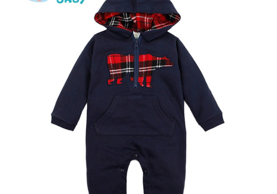 b591fd3dd9c Buy Baby Rompers Newborn Hooded Clothes Infant Hoodies Boys Romper for  Winter Toddler Kids Clothing roupa infantil menino cheap Cheap Online -  buytfs