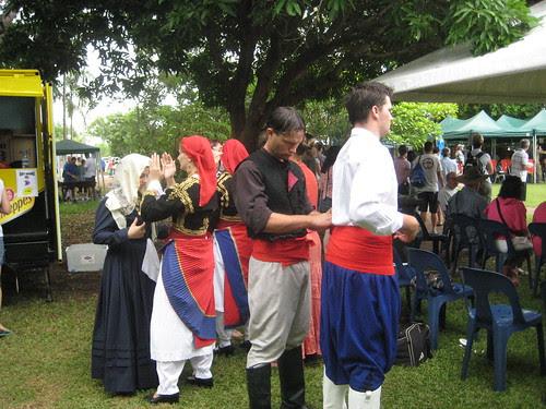 Mediterranean dancers