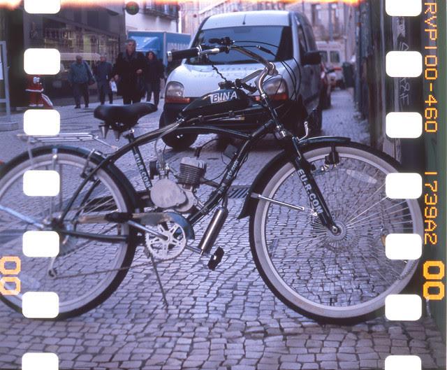 Strange Bike -Yashica 44A