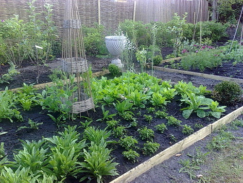 Potager or traditional vegetable garden traditional landscape