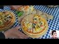 طريقة عمل البيتزا بيتزا الدجاج وبيتزا الخضار | طريقة عمل البيتزا بمكونات بسيطة وبطريقة سهلة مع اماني بارود فيديو من يوتيوب