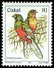 Cl: Narina Trogon (Apaloderma narina) <<Intshatshonga>>  SG 20 (1981) 110