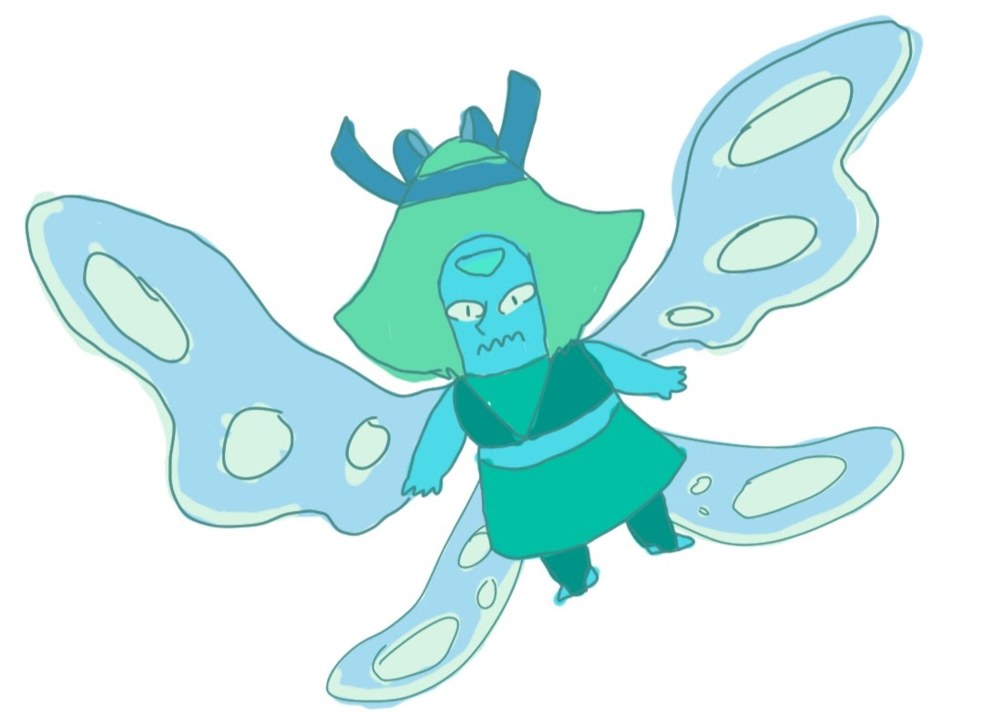 peridot/lapis fusion when