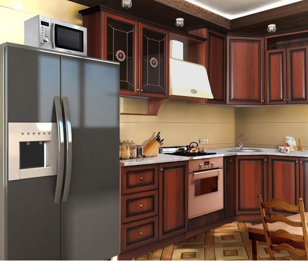 Угловая кухня 7