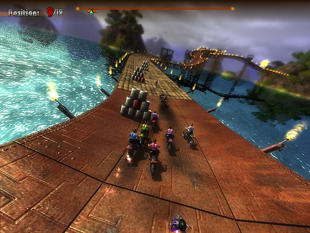 Extreme Motorbikers Screenshot 1