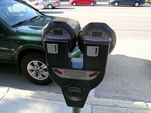 English: Parking meter