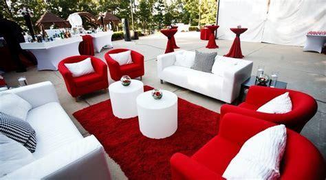 Love this modern cocktail hour/lounge decor   Weddings