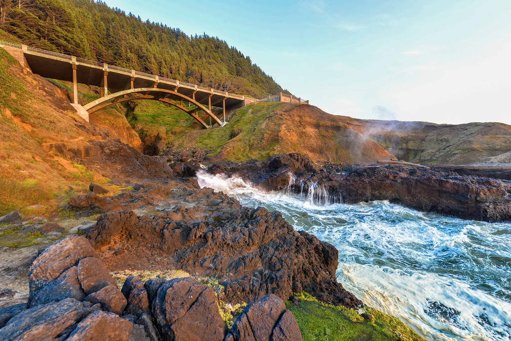 Tidepool Bridge, Oregon Coast