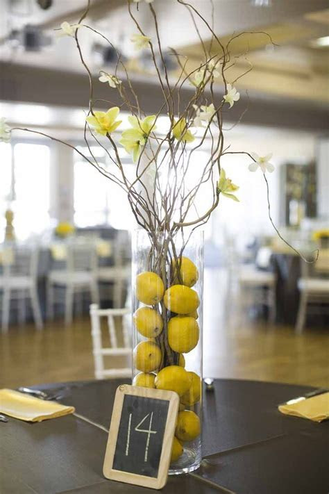 17 Best images about Yellow gray wedding on Pinterest