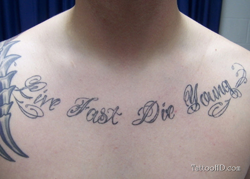 Chest Quote For Men Tumblr Tattoo Tattoos Book 65000 Tattoos
