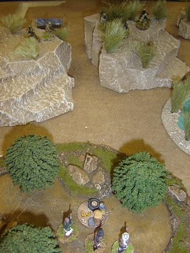 British gain high ground overlooking trees