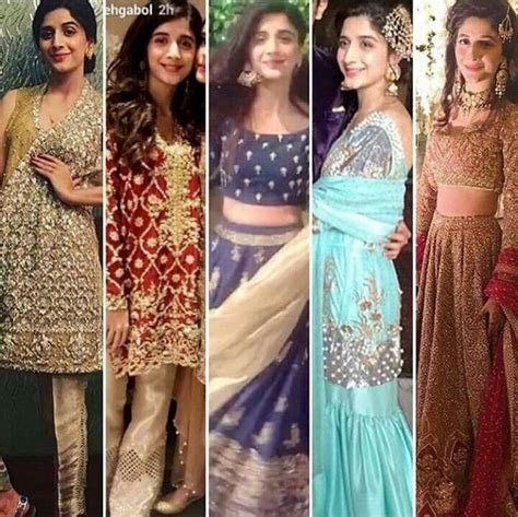 Mawra Hocane and her outfits from #UrwaFarhan wedding