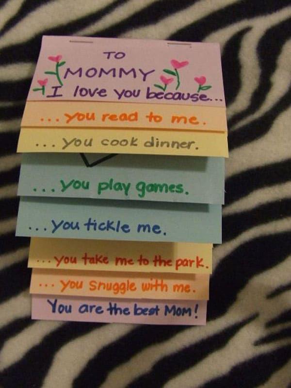 12 Tarjetas Para El Día De La Madre Fáciles Y Originales
