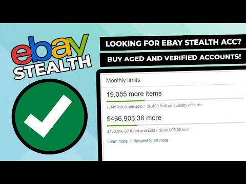 eBay and Paypal Aged Business Accounts With History For Sale