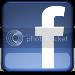 Facebook logo - on blog