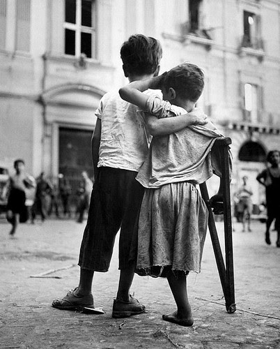 Wayne Miller, Children in Naples, 1944