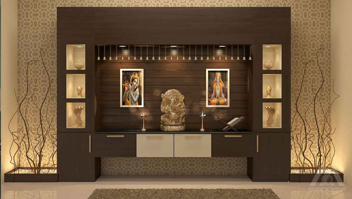 Modern design Ideas for Puja Room