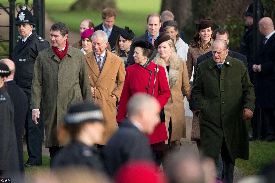 Aktualizacja: Święta Rodziny Królewskiej w Sandringham.