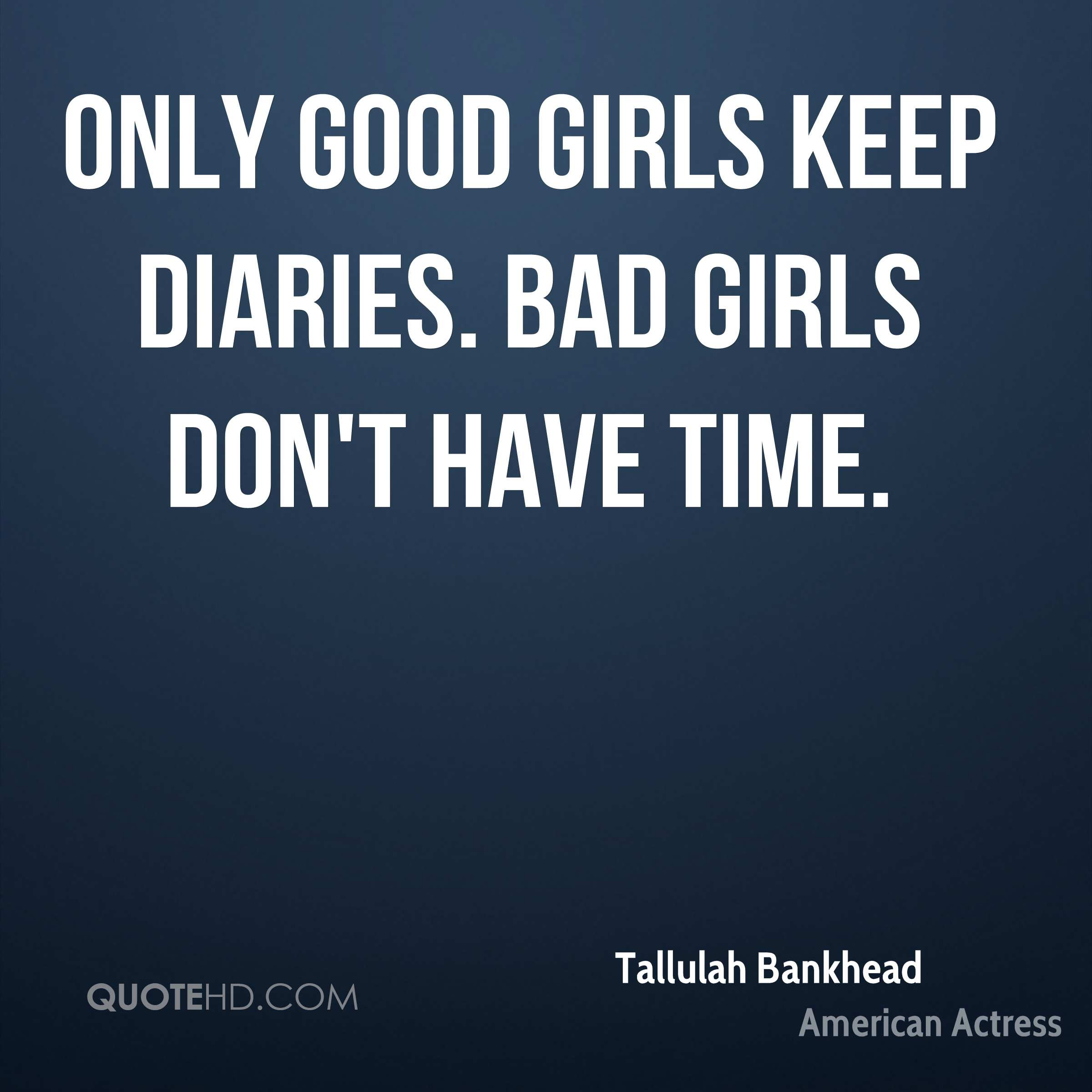 Tallulah Bankhead Time Quotes Quotehd
