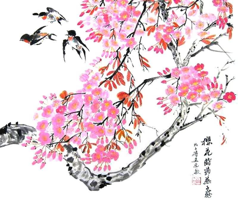 Cherry Blossom Tattoo Designs Clip Art Library