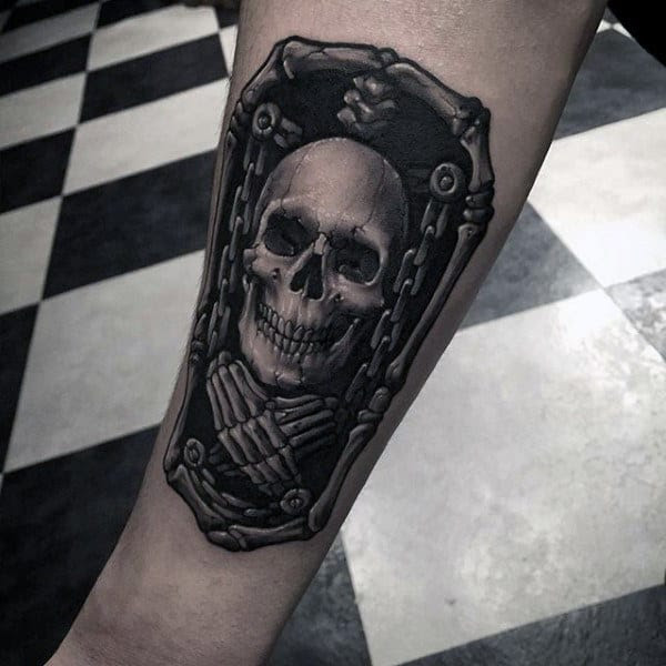40 Chain Tattoos For Men Manly Designs Linked In Strength