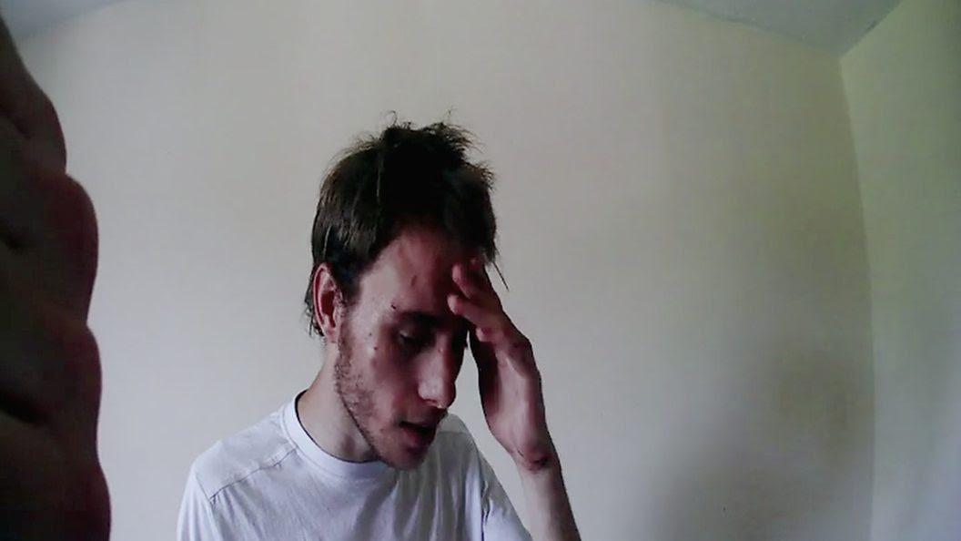 Dashcam footage from Bedfordshire Police when Alex was spoken to. Credit: BBC Three/Bedfordshire Police